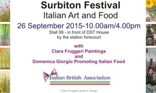 Italian Art and Food at Surbiton Festival