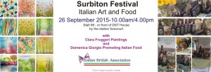 Italian Art and Food at Surbiton Festival 2015