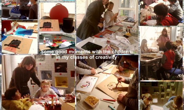 My creativity lessons for children