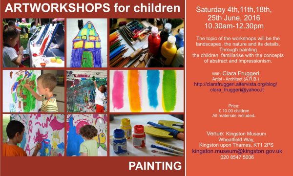 Art workshops for children, June 2016