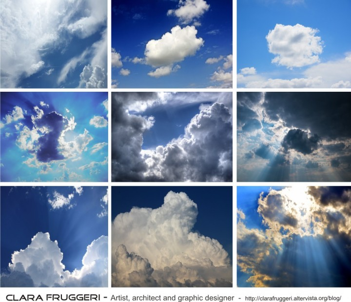 Clara Fruggeri, sky, Between the clouds