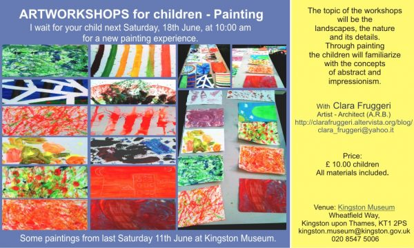 Art Workshops at Kingston Museum