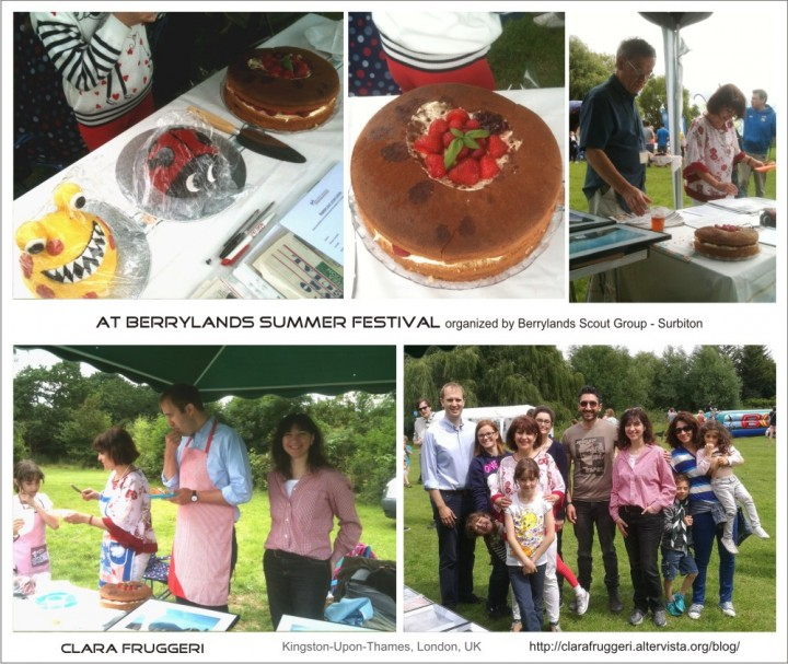 Kingston Local MP James Berry at the Berrylands Scout Group Summer Festival