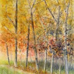 Painting the autumn – Dipingendo l'autunno