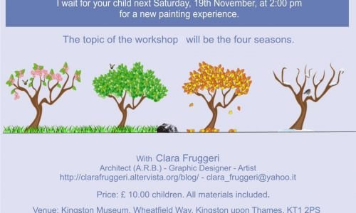 Art Workshop 19 November 2016